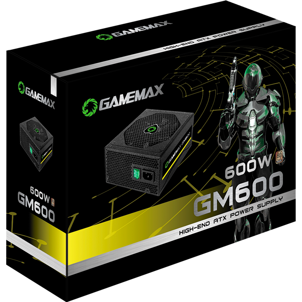Fonte Gamemax GM600